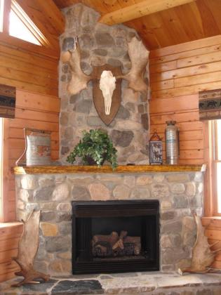 Main Lodge Fireplace
