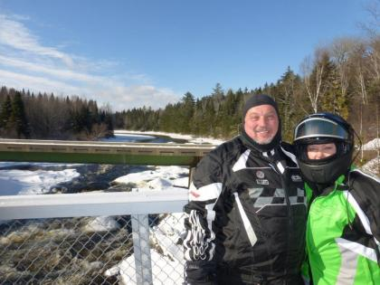 Bobby & Cindy at Moose River